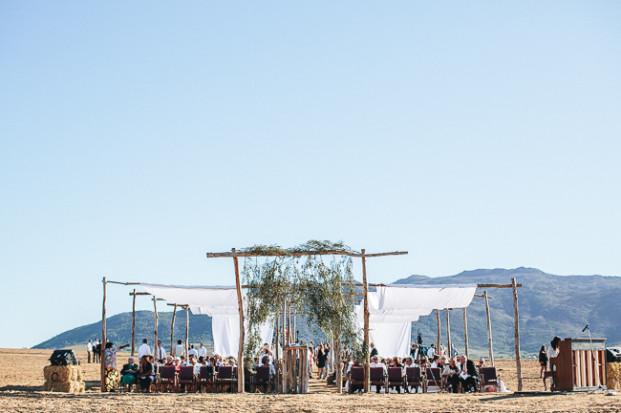 ©Jean Laurent Gaudy - Un mariage rustique en Afrique du Sud - La mariee aux pieds nus