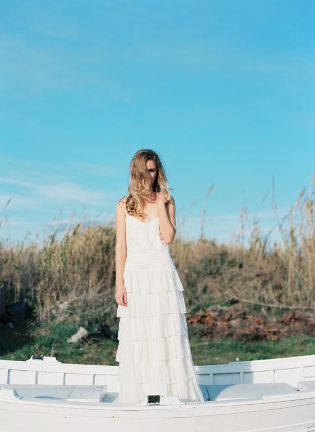 ©Miguel Varona - Otaduy - robes de mariees - La mariee aux pieds nus