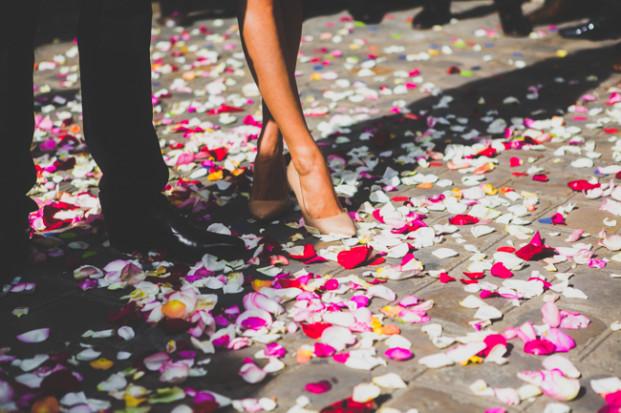 Annie Gozard - Un mariage en vert et blanc - La mariee aux pieds nus