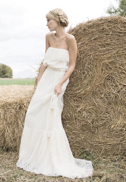 robe longue pour mariage champetre - Tenue Mariage Champetre