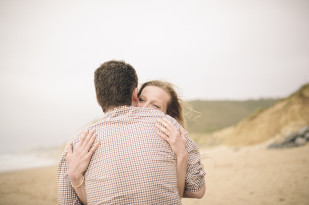 Pretty Days - Une seance engagement sur une plage du Pays Basque - La mariee aux pieds nus