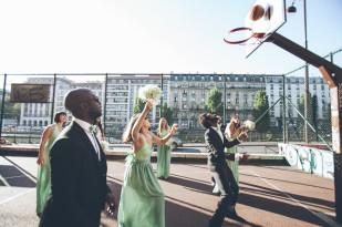 Celine Hamelin - Un mariage au Bizzart a Paris - La mariee aux pieds nus