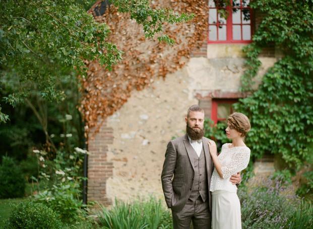 Greg Finck - Un mariage a l anglaise - Faubourg Saint Sulpice - La mariee aux pieds nus