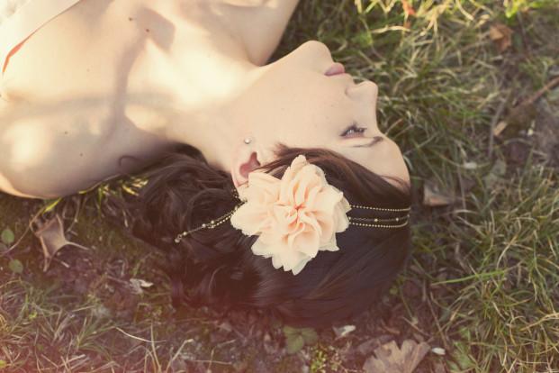 Les dormeuses de Madapolam - La mariee aux pieds nus