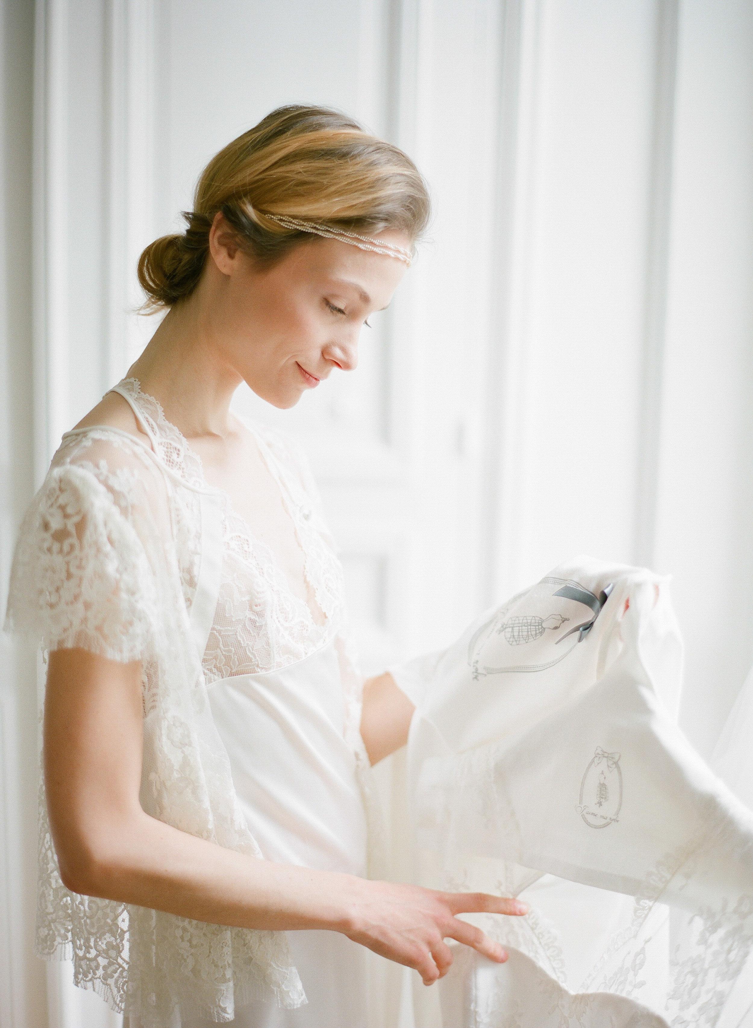 Préservation de robe de mariée