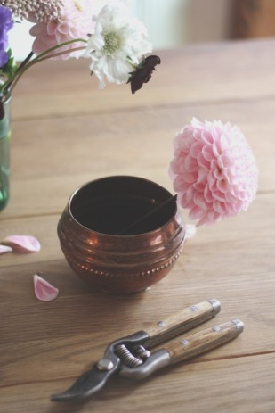 La mariee aux pieds nus - DiY - Une coupe fleurie - 3