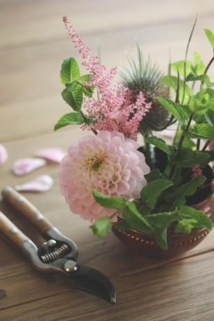 La mariee aux pieds nus - DiY - Une coupe fleurie - 6