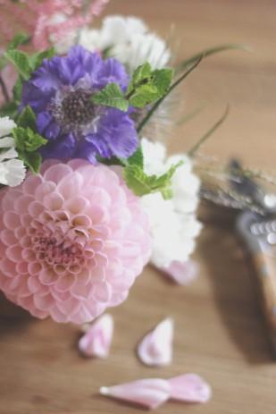 La mariee aux pieds nus - DiY - Une coupe fleurie - 8