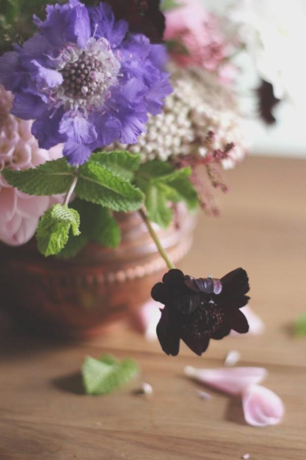 La mariee aux pieds nus - DiY - Une coupe fleurie - 9