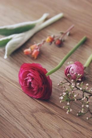 La mariee aux pieds nus - DiY comment faire une boutonniere pour homme - fleurs - 4