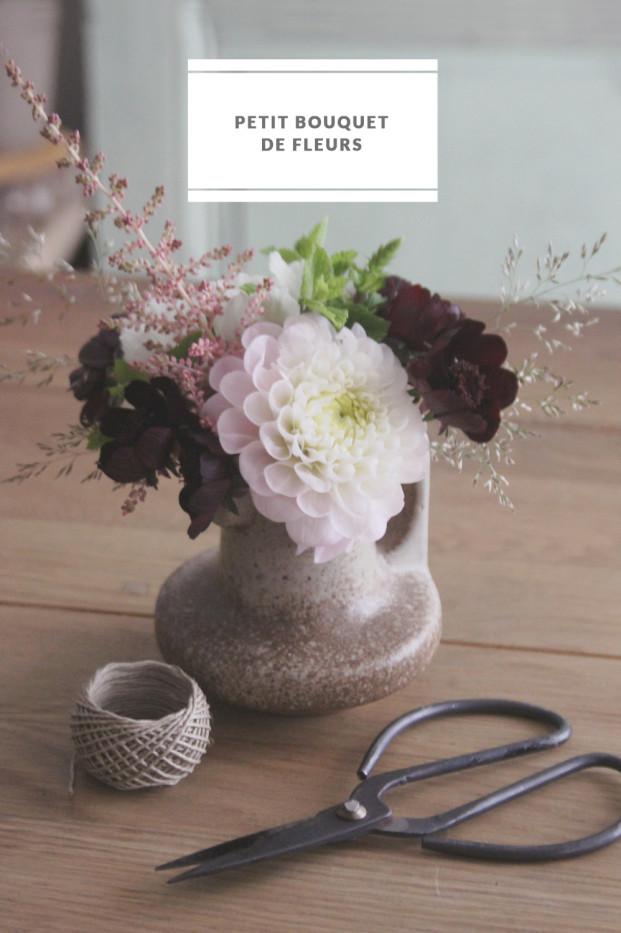 La mariee aux pieds nus - DiY - tutoriel - Comment faire un petit bouquet de fleurs