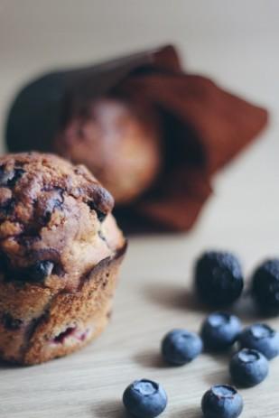 La mariee aux pieds nus - Recette de muffins aux fruits rouges
