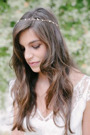 Accessoires de mariée English Garden - La mariée aux pieds nus - Photos : Alex Tome