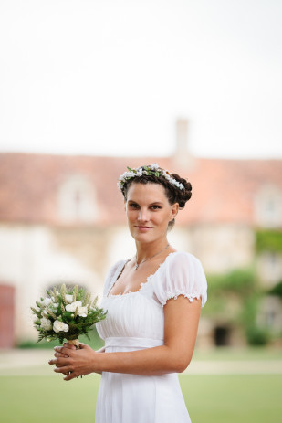 Credits photos Trendz - Mariage en vert et blanc - La mariee aux pieds nus