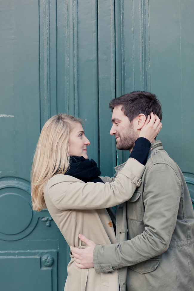 Mademoiselle Fiona / Sance engagement  Paris