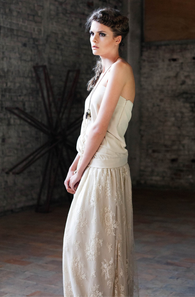 Orlane Herbin Collection 2014 - La mariee aux pieds nus