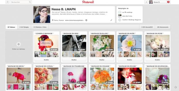 ©La mariee aux pieds nus - Conseils de pros - Utiliser Pinterest pour organiser son mariage