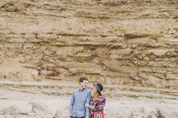 Pretty Days - Une seance engagement a la plage - La mariee aux pieds nus
