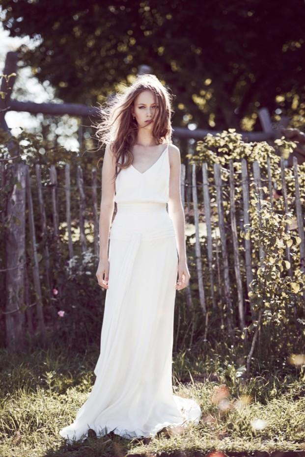 Delphine Manivet - robes de mariée - Collection 2016 - Modele Hyppolite - A découvrir sur le blog mariage La mariée aux pieds nus