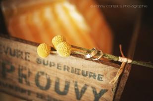 Fanny combes - Un mariage champêtre en jaune dans le Gard - La mariee aux pieds nus