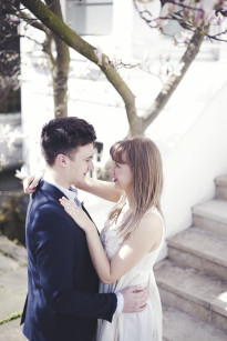 Marion Heurteboust Photography - Seance engagement a Londres - La mariee aux pieds nus