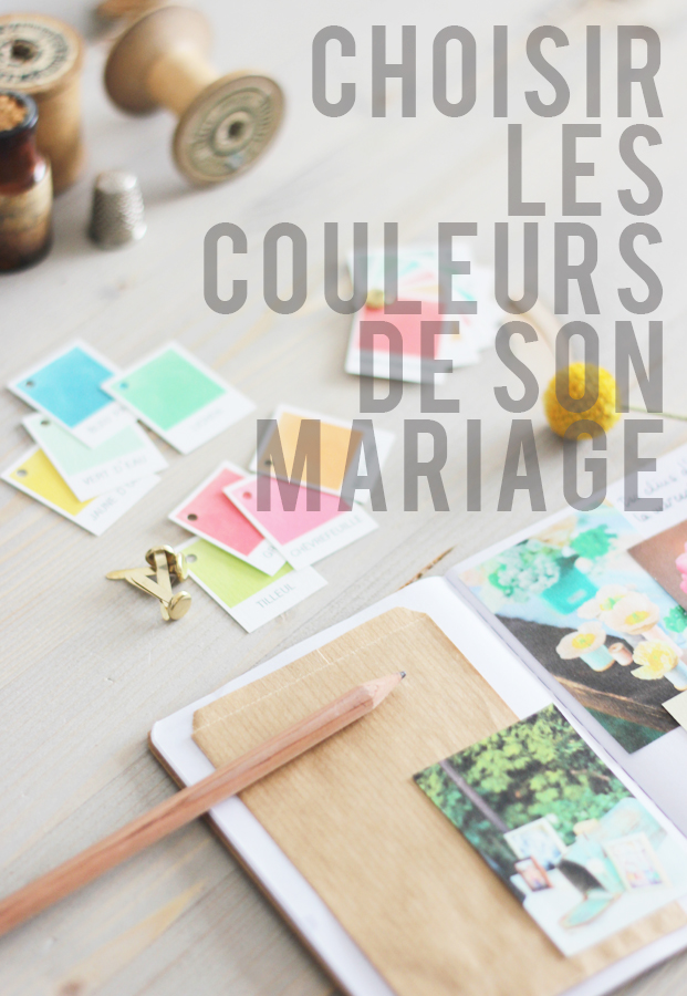 La mariee aux pieds nus - Choisir les couleurs de son mariage - Palette de couleurs a telecharger