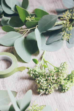 ©La mariee aux pieds nus - DiY- Fabriquer une guirlande de fleurs - 2
