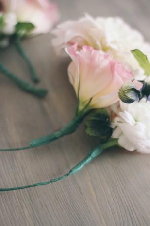 ©La mariee aux pieds nus - DiY - Un collier de fleurs - 3
