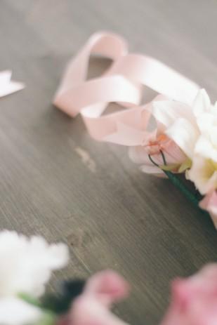 ©La mariee aux pieds nus - DiY - Un collier de fleurs - 6