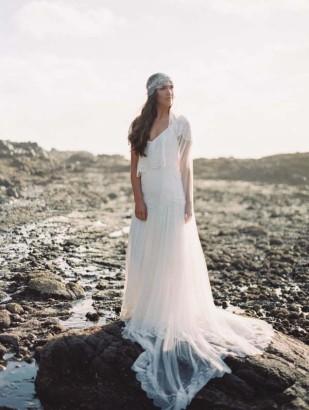 ErichMcVey - Rue de Seine - Robes de mariee - Olympe - La mariee aux pieds nus