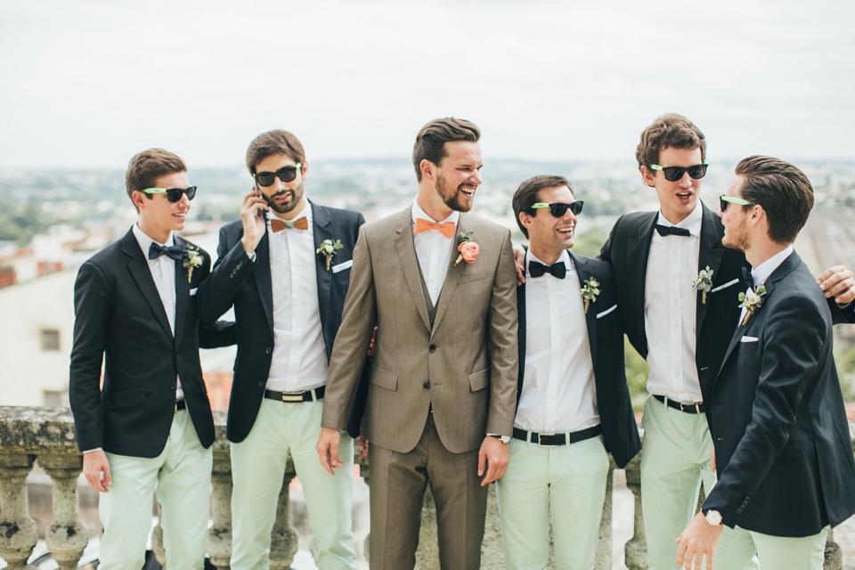 lifestories wedding un mariage en corail et aqua en charente la marie aux pieds - Costume Temoin De Mariage