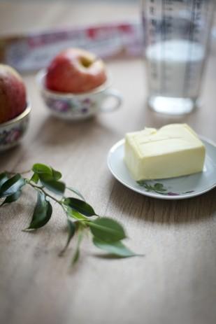 Amandine Ropars - Recette facile de crumble aux pommes - La mariee aux pieds nus