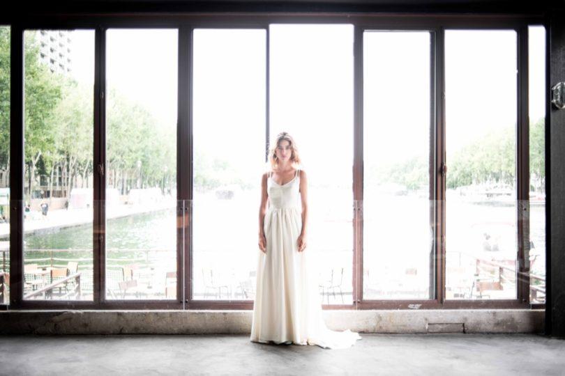 La mariée aux pieds nus - Photo : Ce jour là - Mademoiselle de Guise - Robe de mariée - Collection 2016 - Modèle Gabriela