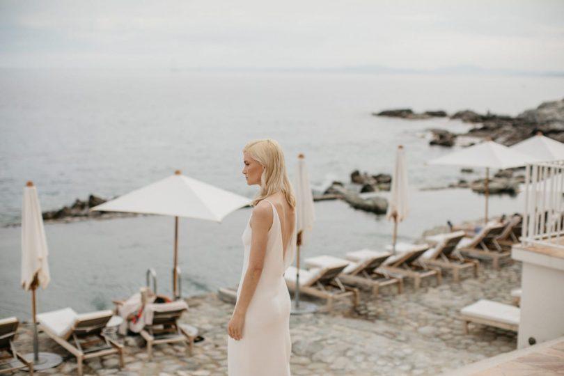 Un mariage épuré et minimaliste à l'hôtel Les roches rouges - Lifestories wedding - La mariée aux pieds nus
