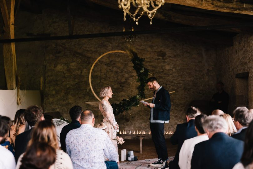 Un mariage rock et décontracté en Dordogne - Photographe : Chloé Lapeyssonnie - Blog mariage : La mariée aux pieds nus