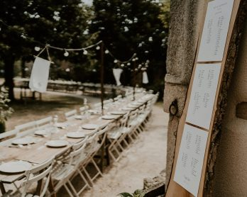 12 astuces pour réussir le plan de table de son mariage sans stress - Blog mariage : La mariée aux pieds nus