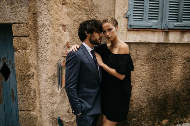 Faubourg Saint Sulpice - Costume sur mesure Mariage - A découvrir sur le blog mariage www.lamarieeauxpiedsnus.com - Photos : Lifestories Wedding - Yann Audic