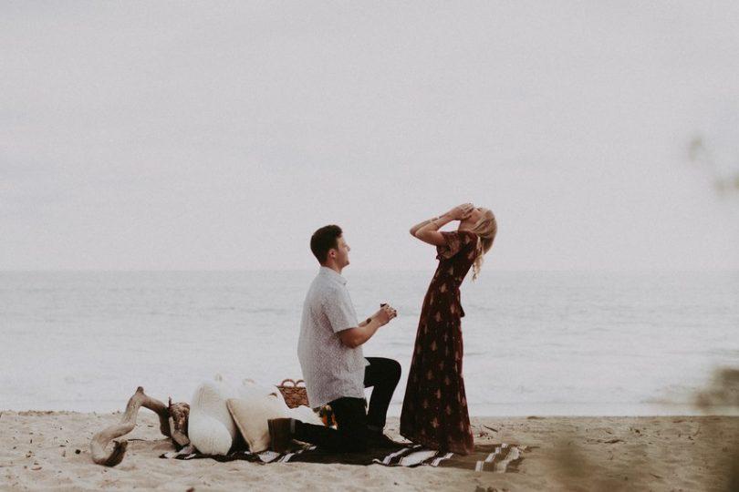 Vos plus belles demandes en mariage - A découvrir sur le blog mariage La mariée aux pieds nus