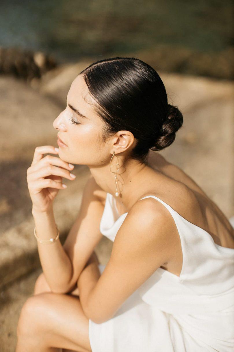 Robe de mariée, comment trouver son style ? - Blanc Crème - Blog mariage : La mariée aux pieds nus