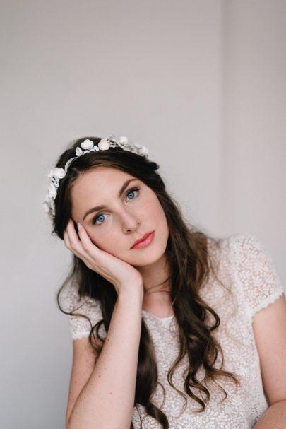Lizeron - Accessoires de mariée - Photos : Chloé Lapeyssonnie - Blog mariage : La mariée aux pieds nus
