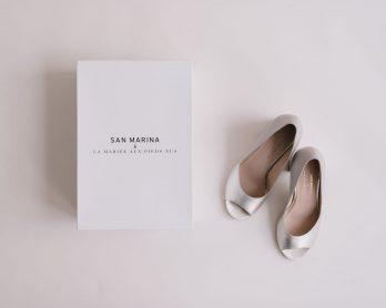 Collab Chaussures de mariée - San Marina x LMAPN - Blog mariage : La mariée aux pieds nus