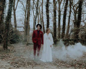 Un mariage en Hiver - Shooting d'inspiration - Photos : Marine Marques - Blog mariage : La mariée aux pieds nus