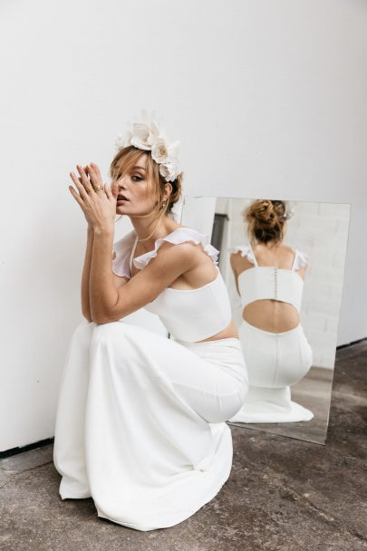 By Romance, prêt-à-porter mariée - ARTY - Collection 2019 - Photos : Lifestories wedding - Blog mariage : La mariée aux pieds nus