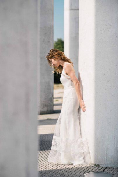 La mariée aux pieds nus - Photo : Ce jour là - Mademoiselle de Guise - Robe de mariée - Collection 2016 - Modèle Margot