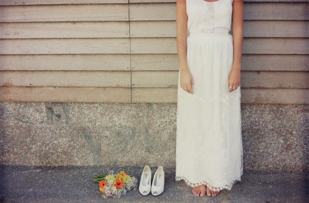 Christina Sfez - Robe de mariee - Collection 2014 - La mariee aux pieds nus