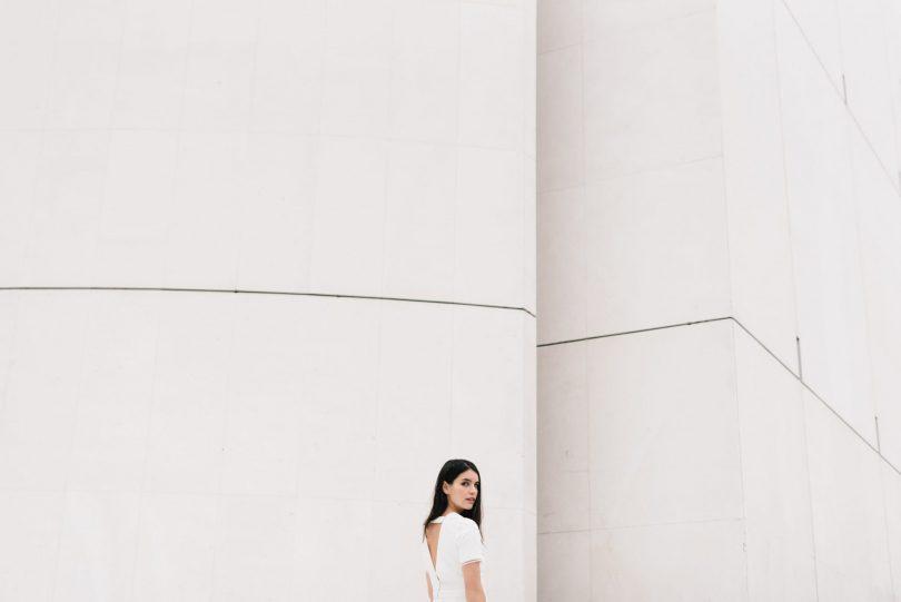 Mademoiselle de Guise - Robe de mariée civile Zoé - Photos : Chloé Lapeyssonnie - Blog mariage : La mariée aux pieds nus