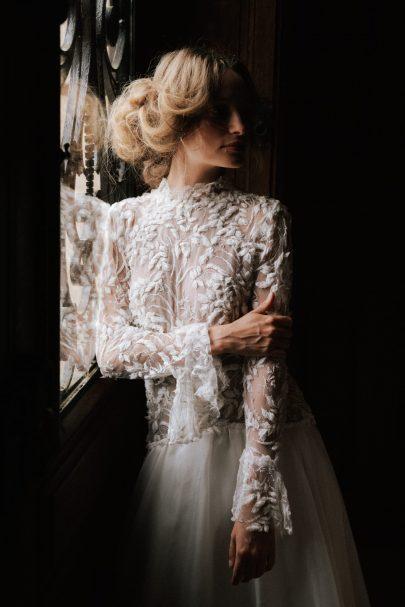 Isabella Boutin - Robes de mariée - Collection 2021 - Photos : Chloé Lapeyssonnie - Blog mariage : La mariée aux pieds nus