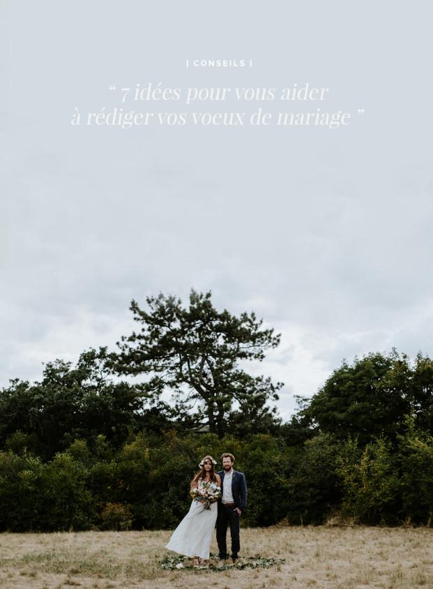 7 idées pour vous aider à rédiger vos voeux de mariage - A découvrir sur le blog mariage www.lamarieeauxpiedsnus.com - Photos : Pinewood Weddings