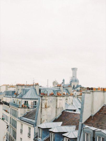 D'Arcy Benincosa - Un mariage à Paris - La mariée aux pieds nus