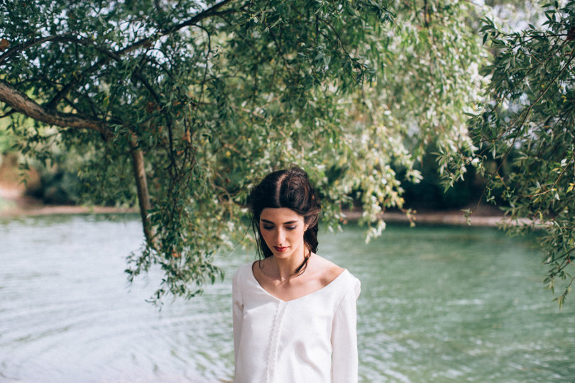 Aurélia Hoang - Robes de mariée - Collection 2016 - A découvrir sur le blog mariage La mariée aux pieds nus - Photos : Ingrid Lepan